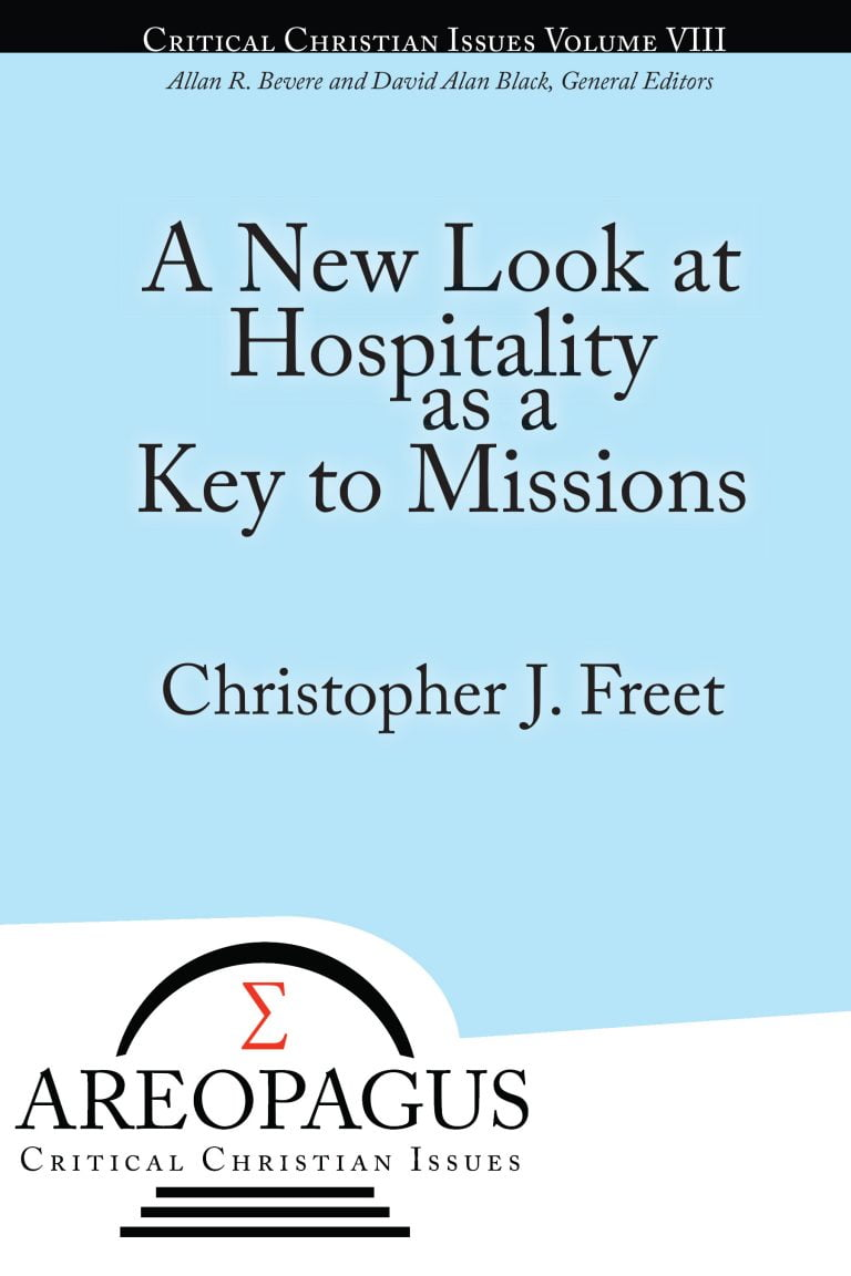 To the Printer: A New Look at Hospitality as a Key to Missions