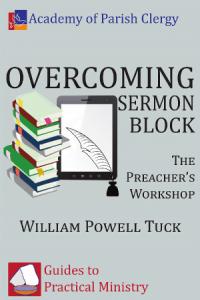 Overcoming Sermon Block by William Powell Tuck