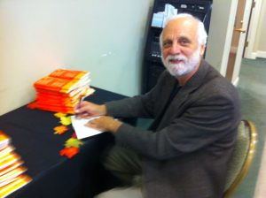 Dave Black signing Why Four Gospels at Shepherds Seminary