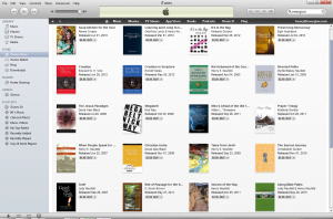 Energion Titles Showing on iTunes