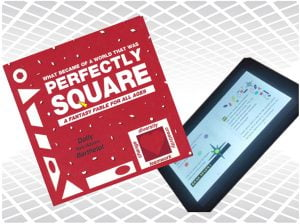 Perfectly Sqaure now available as a full-color ebook.