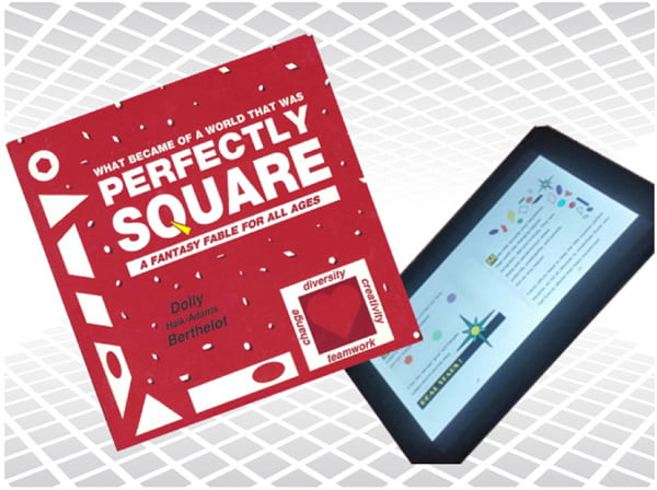 New eBook Release – PERFECTLY SQUARE in Exciting Color