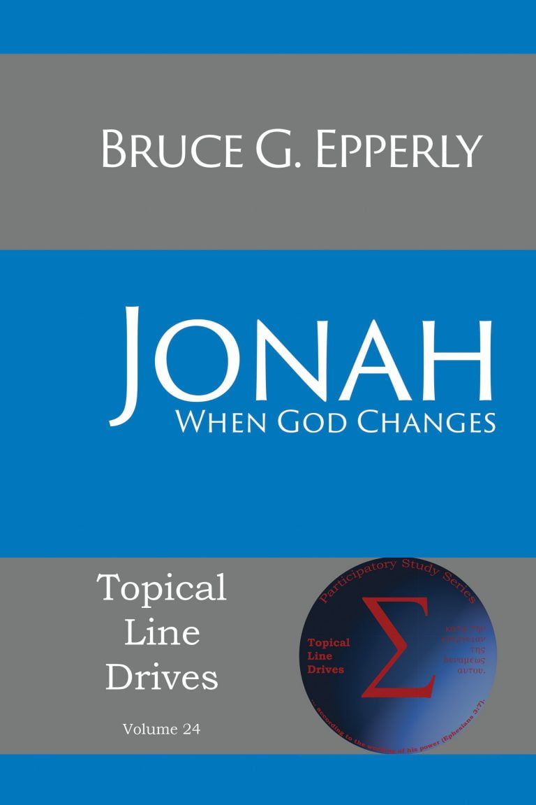 Jonah: When God Changes (Video)