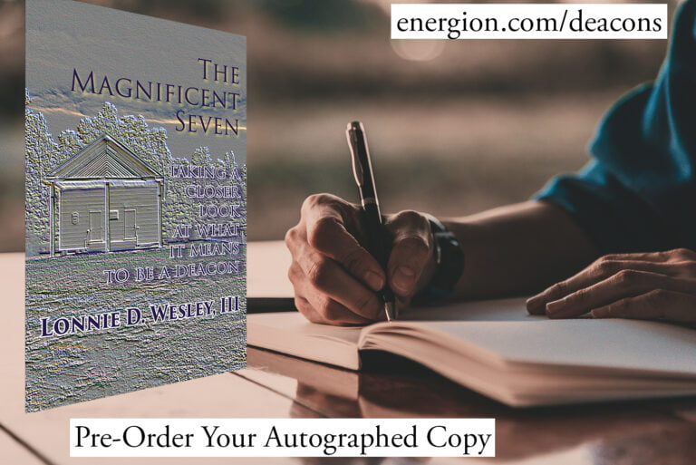 Pre-Order Autographed Copies of The Magnificent Seven by Dr. Lonnie Wesley